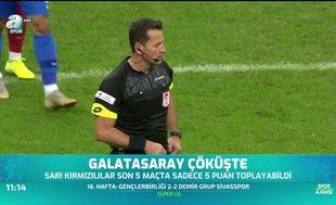 Galatasaray çöküşte