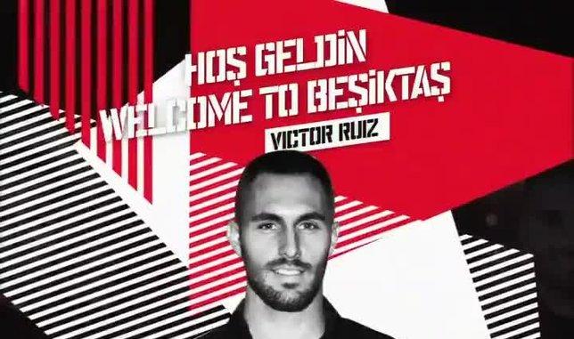 Beşiktaş Victor Ruiz'i böyle duyurdu