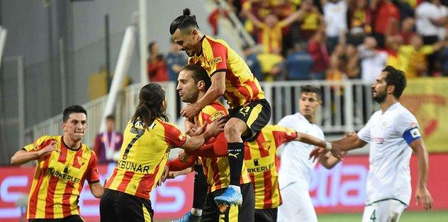 Göztepe 1-0 Konyaspor   MAÇ SONUCU