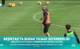 Beşiktaş'ta Burak Yılmaz seferberliği
