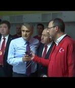Başkan Erdoğan'dan millilere tebrik telefonu