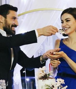 Galatasaraylı Şener Özbayraklı ile Şilan Makal nişanlandı