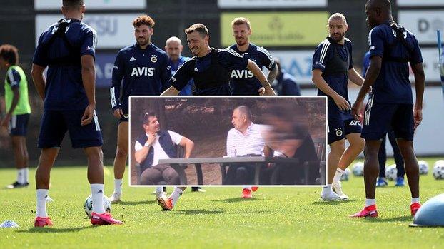 Fenerbahçe antrenmanında sürpriz isim! Emre Belözoğlu ve... #