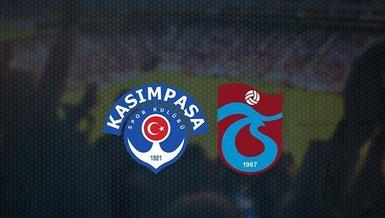 CANLI | Kasımpaşa - Trabzonspor maçı ne zaman? Trabzonspor maçı saat kaçta ve hangi kanalda canlı yayınlanacak? | Süper Lig