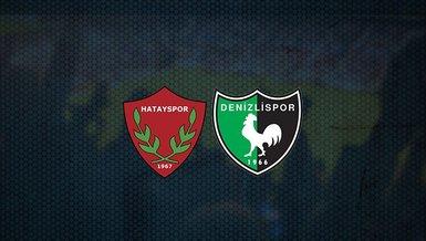Hatayspor - Denizlispor maçı ne zaman, saat kaçta ve hangi kanalda canlı yayınlanacak? | Süper Lig