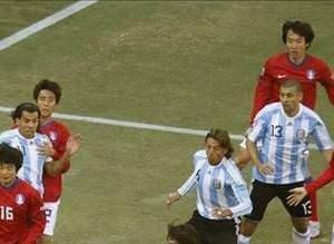 Arjantin - Güney Kore (B Grubu maçı)