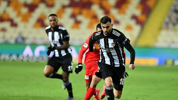 Beşiktaş'ta Ghezzal şov! İstatistikleri altüst etti #