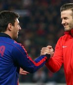 David Beckham'dan Messi'ye teklif!