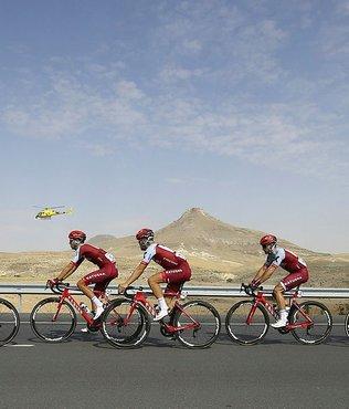 Cumhurbaşkanlığı Bisiklet Turu Alanya-Antalya etabı başladı