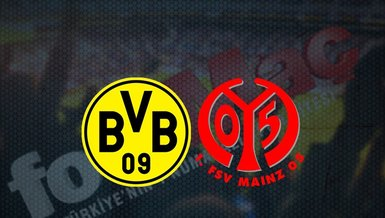 Dortmund - Mainz maçı ne zaman? Saat kaçta ve hangi kanalda canlı yayınlanacak?   Almanya Bundesliga