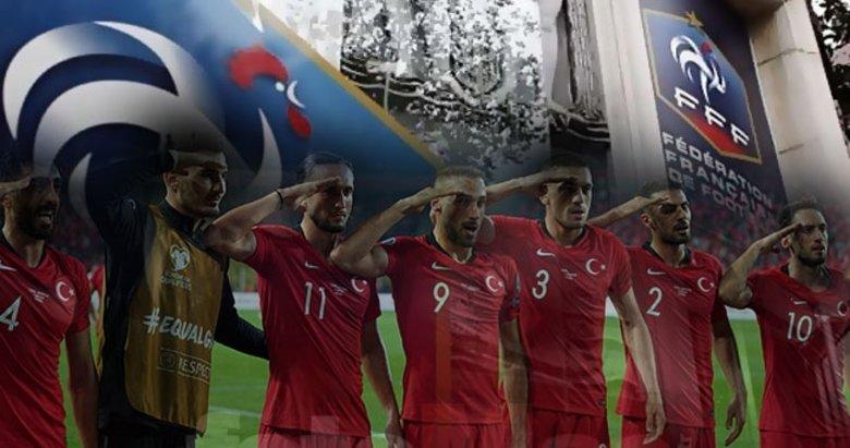 Milli maç öncesi Fransa'da alarm! Türkiye'den korkuyoruz ve...