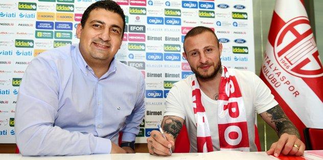 Antalyaspor'dan kadroya yeni takviye