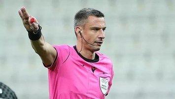 Sporting maçı Sloven hakemin
