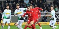 MAÇ SONUCU   Mönchengladbach 2 - 1 Bayern Münih