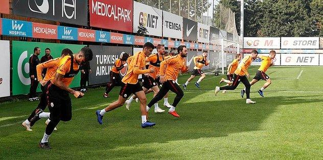 Galatasaray Çaykur Rizespor maçı hazırlıklarına başladı