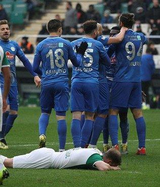 Bursaspor'a Çaykur Rizespor şoku!