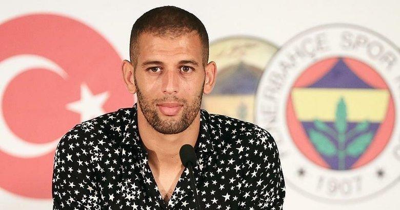 Islam Slimani'den flaş sözler! Fenerbahçe ve Feghouli...