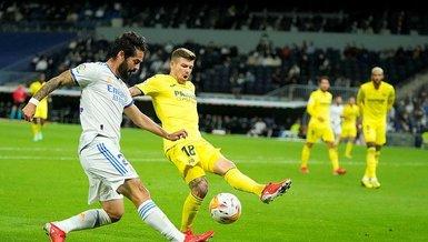 Real Madrid Villarreal 0-0 (MAÇ SONUCU - ÖZET)