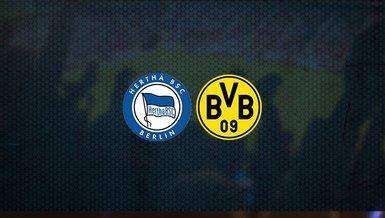 Hertha Berlin - Borussia Dortmund maçı ne zaman, saat kaçta ve hangi kanalda canlı yayınlanacak? | Almanya Bundesliga