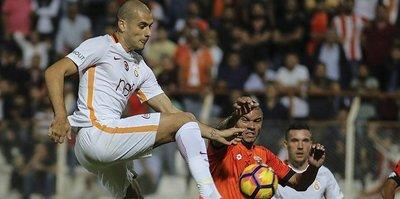 Galatasaray ile Adanaspor 44. randevuda