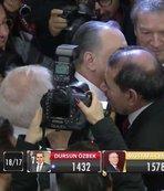 Dursun Özbek, Mustafa Cengiz'i tebrik etti