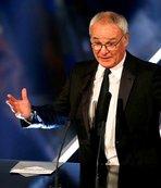 Yılın teknik direktörü Claudio Ranieri