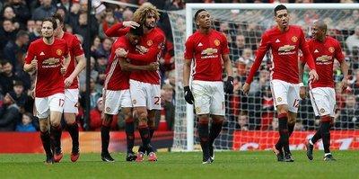 Manchester United seriyi bozmadı