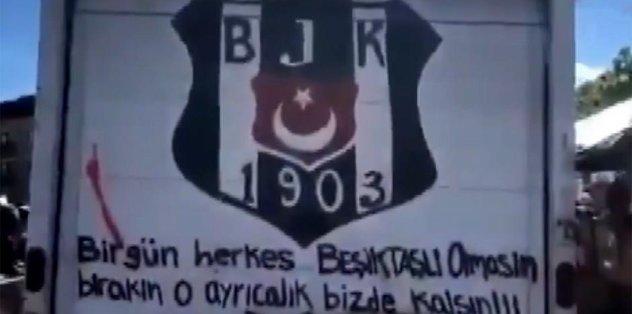 Protestoda yine bir Beşiktaşlı - Futbol -