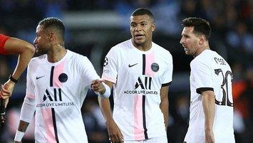 Messi'li PSG Club Brugge'e takıldı!