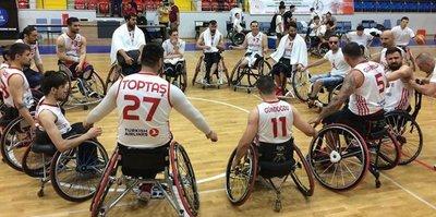 Tekerlekli Sandalye Basketbol Milli Takımı bronz madalya kazandı