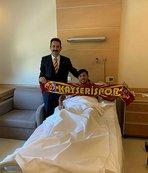 Kayserispor'un genç yıldızı Nurettin Korkmaz ameliyat oldu!
