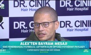 Alex de Souza Ramazan Bayramı'nı kutladı
