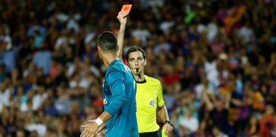 Ronaldo'dan cezaya tepki