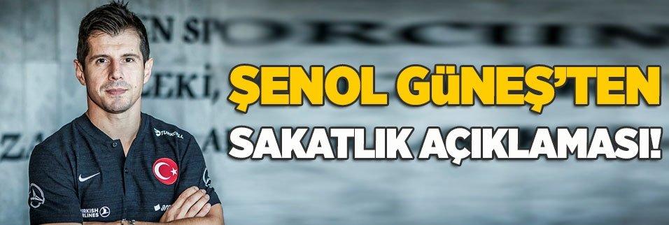 Şenol Güneş'ten sakatlık açıklaması! Emre Belözoğlu...