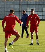 Sivasspor Evkur Yeni Malatyaspor maçı hazırlıklarını sürdürdü