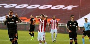 Sivasspor'dan hakem tepkisi!