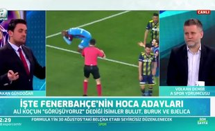 """Flaş sözler! """"Fenerbahçe'de listenin başında o hoca var"""""""