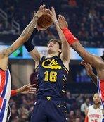 Cavaliers Cedi'nin 11 sayı attığı maçta Detroit'i yendi!
