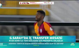 Galatasaray'da iç transfer mesaisi sürüyor