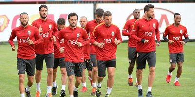 Galatasaray, Gaziantepspor'a hazırlanıyor