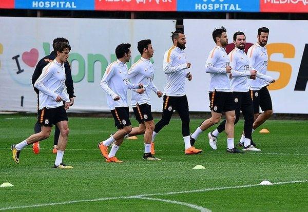 Galatasaray idmanında gerginlik!