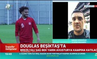 Beşiktaş Douglas'ı renklerine bağladı