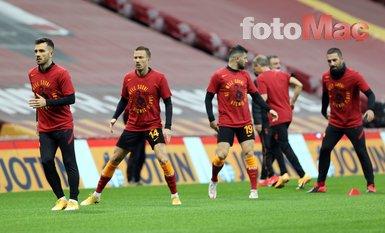 Galatasaray - Antalyaspor maçı öncesinde Omar Elabdellaoui unutulmadı