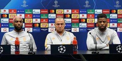 Club Brugge mücadelesi öncesi Fatih Terim basın toplantısı düzenledi