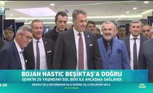 Bojan Nastic Beşiktaş'a doğru