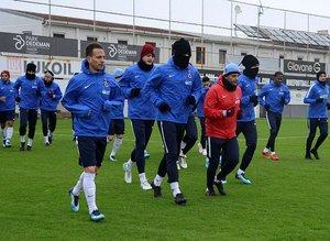 Trabzonspor 6 eksikle çalıştı