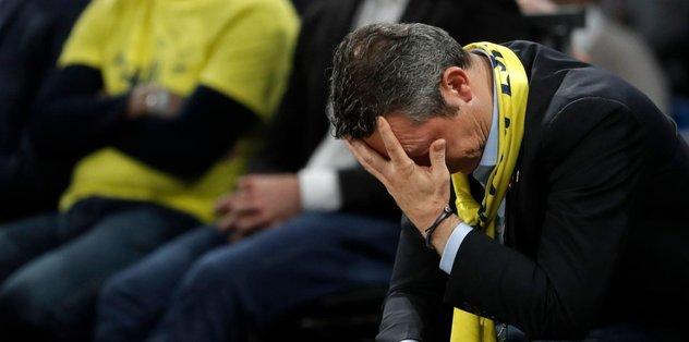 Fenerbahçe'de rekorlar tersten işliyor! Tarihte ilk kez...