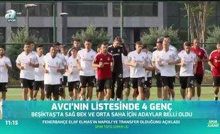 Beşiktaş'ın listesinde 4 genç