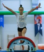 Cimnastikte ilk Tokyo kotası Nazlı'dan