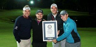 Golfte Guinness Dünya Rekoru kırıldı